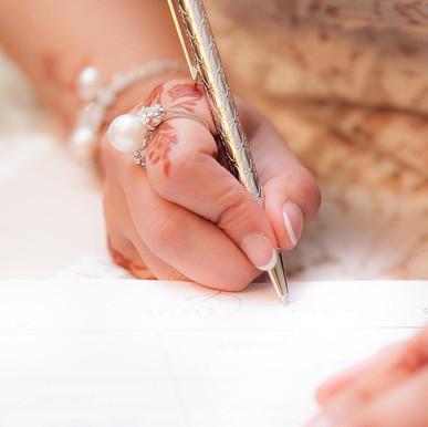 Engagement signing #dubai #sharjah