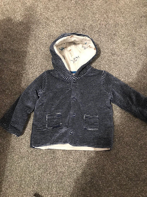 0/3 months M&S hooded top