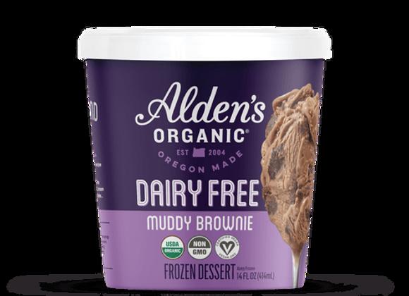 Alden's Dairy Free Ice Cream, Muddy Brownie