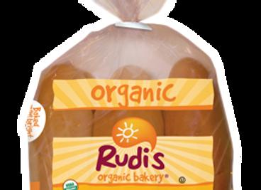 Rudi's White Hot Dog Buns