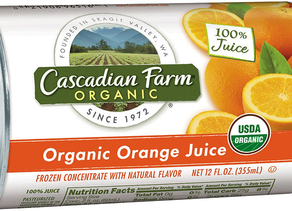 Cascadian Farms Organic Orange Juice Concentrate