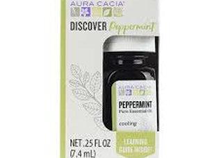 Aura Cacia Essential Oils, Discover, Peppermint