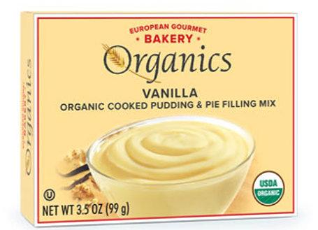 European Gourmet Bakery Vanilla Pudding Mix