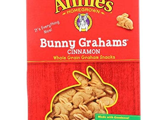 Annie's Cinnamon Bunny Grahams