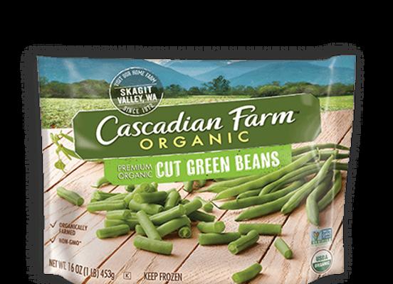 Cascadian Farm Organic Cut Green Bean