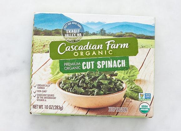 Cascadian Farm Organic Cut Spinach
