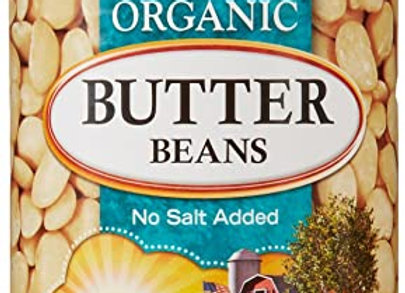 Butter Beans No Salt
