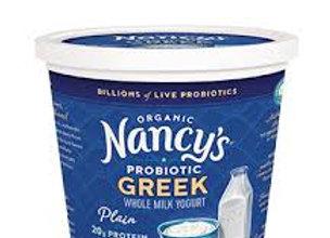 Nancy's Whole Milk Greek Yogurt, Plain