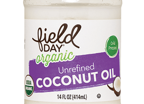 Field Day Unrefined Coconut Oil