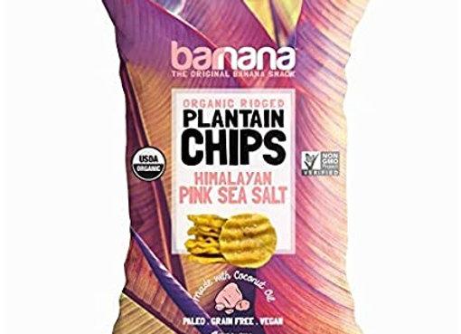 Banana Chips, Pink Himalayan Salt
