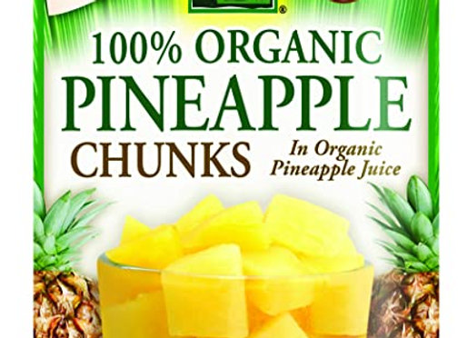 Native Forest Organic Pineapple Chunks