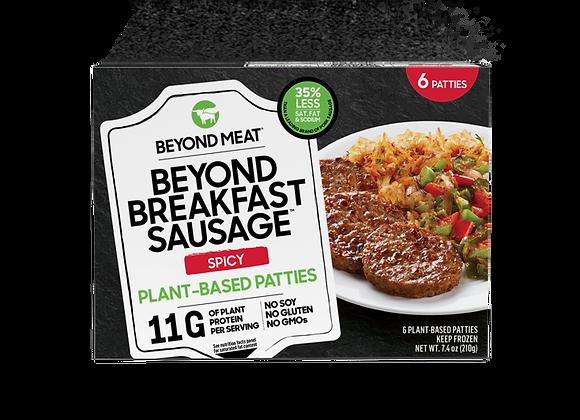 Beyond Meat Spicy Breakfast Sausage