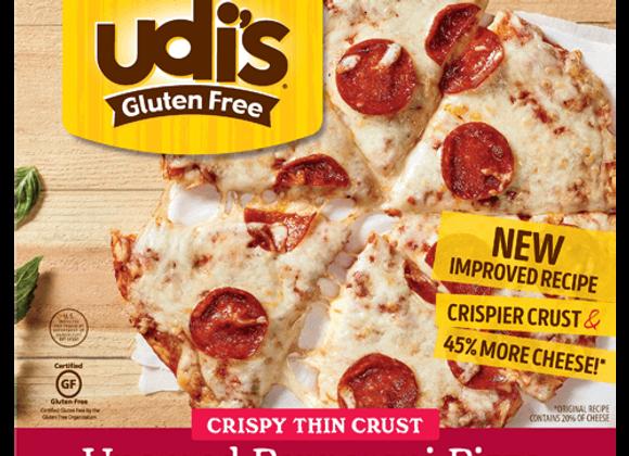 Udi's Uncured Pepperoni Pizza, Gluten Free