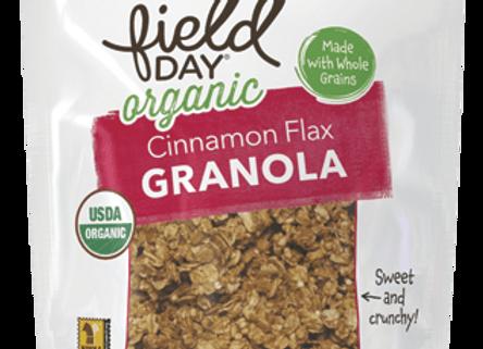 Field Day Cinnamon Flax Granola