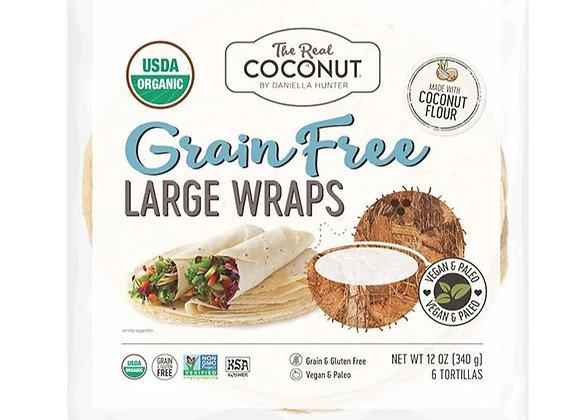 The Real Coconut Coconut Tortillas