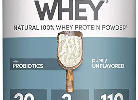 Designer Protein, Designer Whey, Plain
