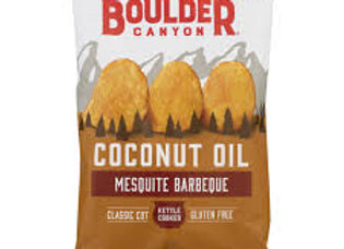 Boulder Canyon Coconut Oil Chips, Mesquite BBQ
