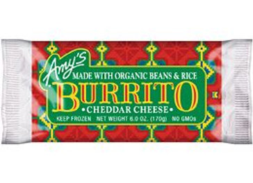 Amy's Bean, Rice, Cheese Burrito