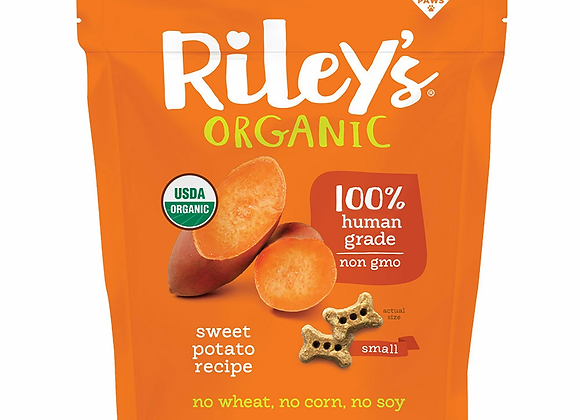 Riley's Sweet Potato Dog Treats, Small