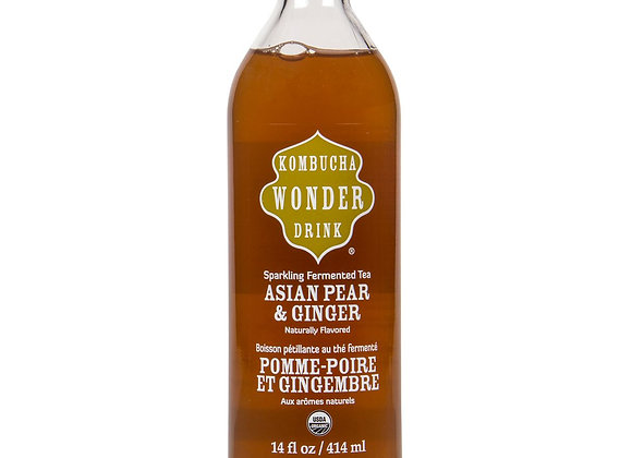Kombucha Pear and Ginger Flavor