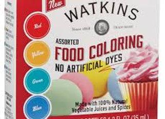 Watkins Assorted Food Coloring