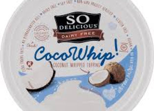 SO Delicious, Dairy Free, Cool Whip