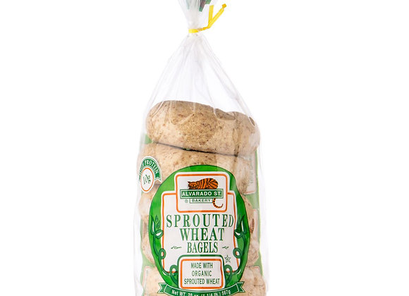 Alvarado Street Bakery Sprouted Wheat Bagels