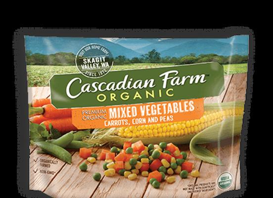 Cascadian Farms, Mixed Vegetables