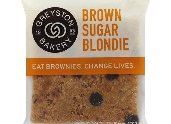 Greyston Bakery Brown Sugar Blondie