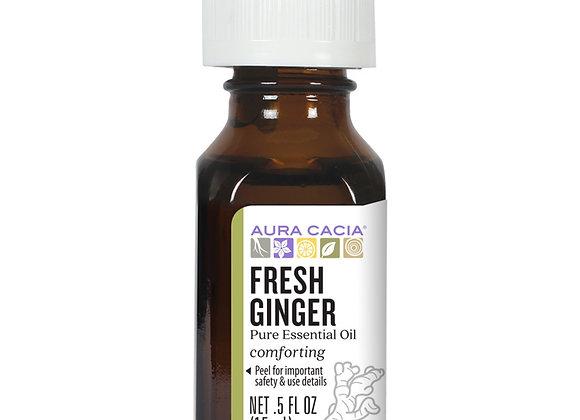 Aura Cacia Essential Oils, Fresh Ginger