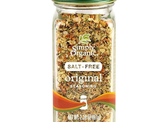 Simply Organic Salt Free Seasoning