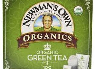 Newman's Organic Green Tea, 100 Bags