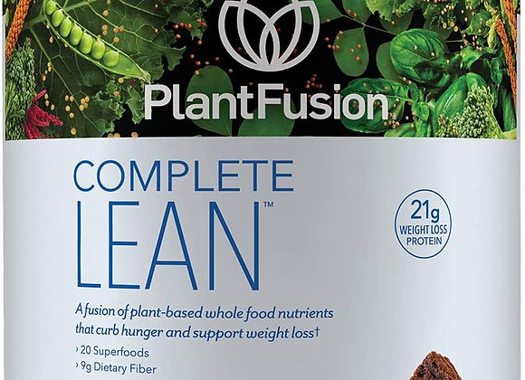 Plantfusion Lean Protein Powder, Chocolate Brownie