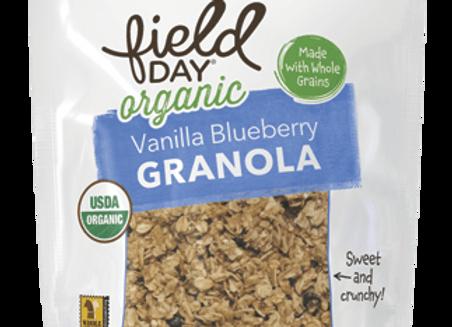 Field Day Vanilla Blueberry Granola