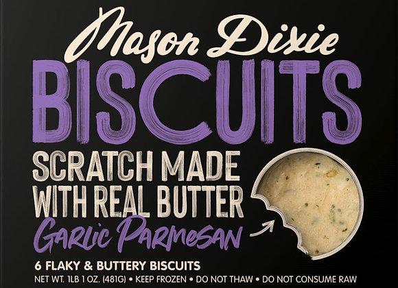 Mason Dixie Garlic Parmesan Biscuits