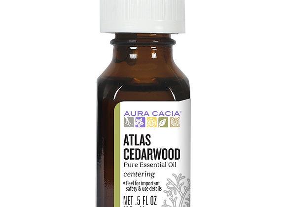 Aura Cacia, Essential Oils, Atlas Cedarwood