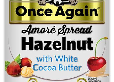 Once Again Hazelnut White Chocolate Spread