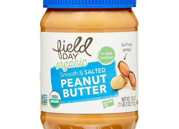 Field Day Smooth Salted Peanut Butter
