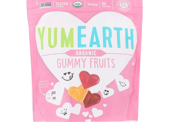 YumEarth Valentine's, Gummy Fruit