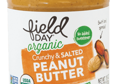 Field Day Crunchy Salted Peanut Butter