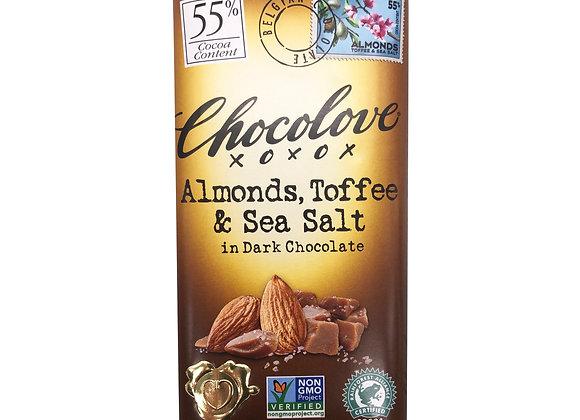 Chocolove Almond, Toffee Bar