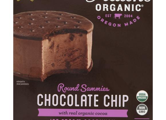Alden's Chocolate Chip Ice Cream Sandwhich