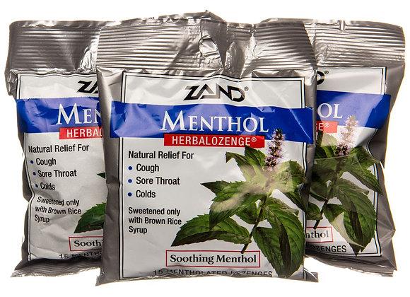 Menthol Cough Drops