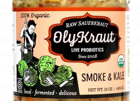 Olykraut Smoke and Kale Sauerkraut
