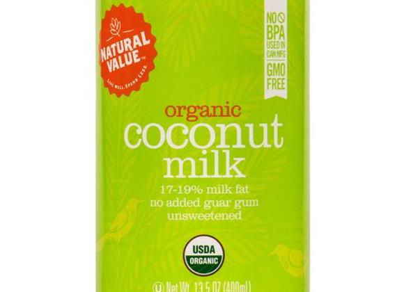 Natural Value Regular Coconut Milk