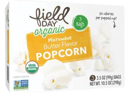Field Day Buttered Popcorn