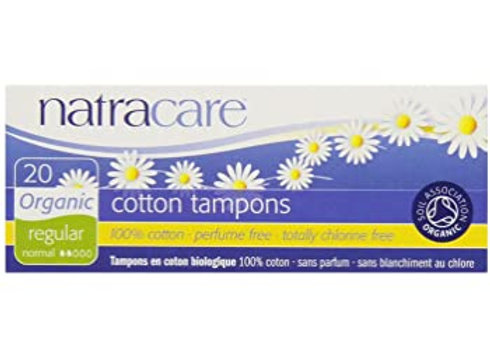 Natracare Regular Tampons with Applicator