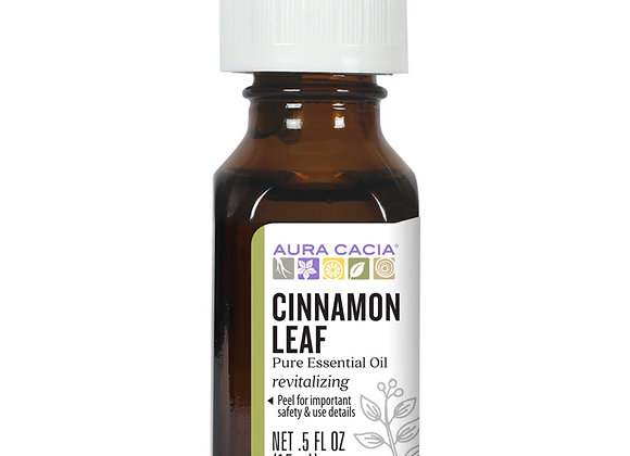 Aura Cacia Essential Oils, Cinnamon Leaf