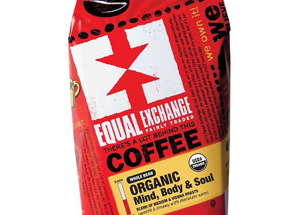 Equal Exchange Mind, Body, Soul Coffee