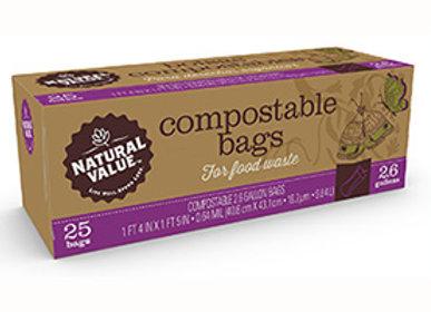 Compostable Trash Bags 2.6 Gallons